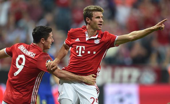 Lewandowski y Müller, una pareja de época   Getty