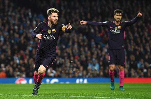 Leo Messi abrió el marcador | Getty