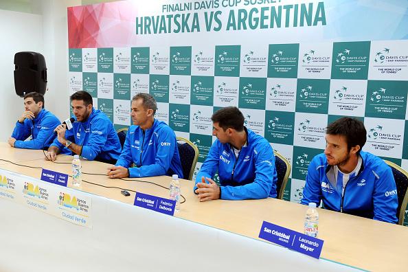 El equipo argentino con Del Potro a la cabeza a obrar el milagro | Getty