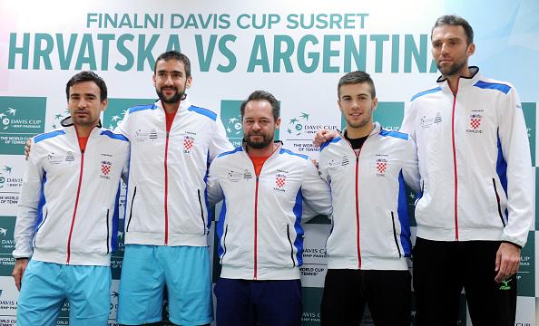 El equipo croata de Copa Davis de esta edición | Getty