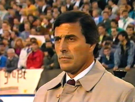 Tabárez entrenador de Uruguay en 1990 | AUF.com