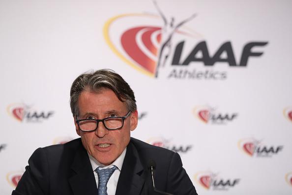 Sebastian Coe, presidente de la IAAF   Getty