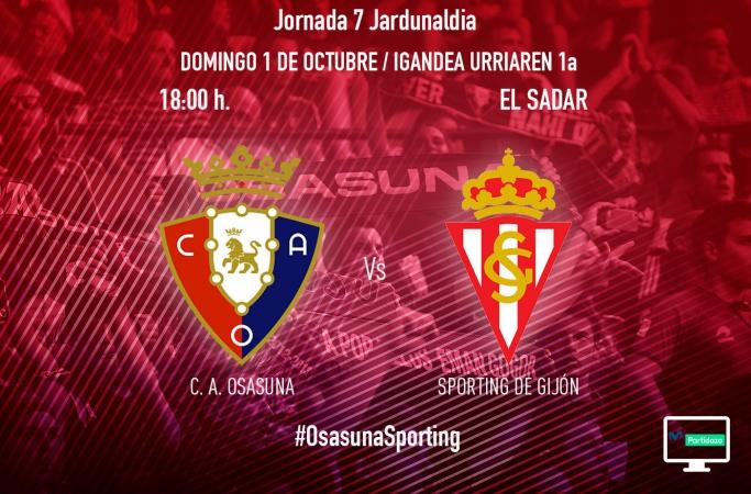 Osasuna - Sporting, Previas Segunda