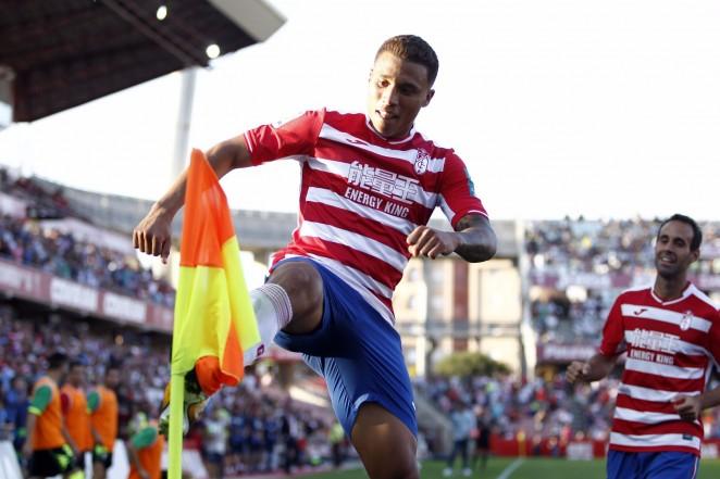 Darwin Machís, celebrando un gol ante el Córdoba | Lupa Sphera