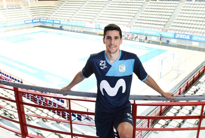 Carlos Ortiz, capitán de Movistar Inter [Foto: Sandra Santiago | Movistar Inter F.S.